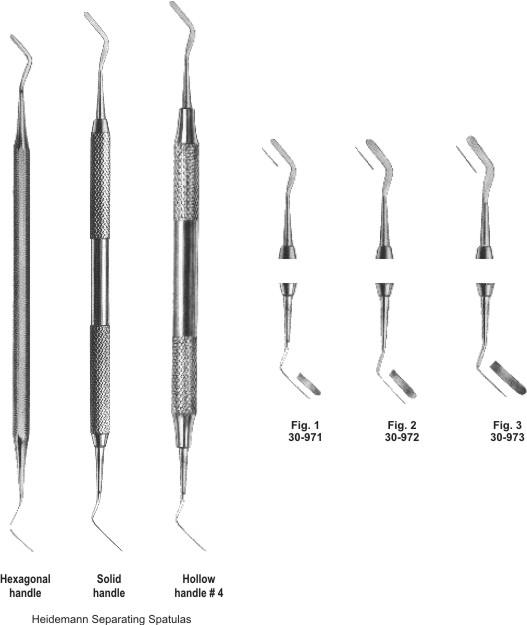 Spatulas Instruments